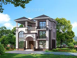 5款普通农村自建房设计图,简单实用造价30万以内