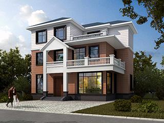 农村三层房屋设计图,优雅贵气,这样的房子才经得起时间的沉淀