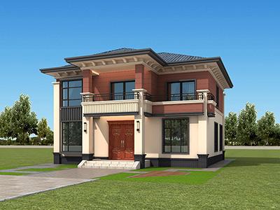 二层新中式小别墅,时尚经典,中正大气。