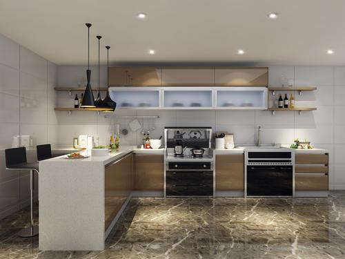 这样装修出来的厨房才是颜值与实用并存!