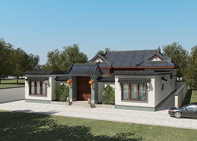 中式四合院设计,性价比首选设计图纸,经典传承!