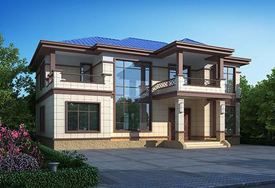 农村别墅设计图,白墙青瓦,新中式风格建筑你爱了吗?