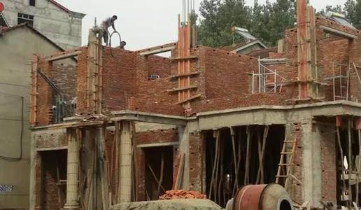 农村住宅建设之所以选择砖混结构的好处。