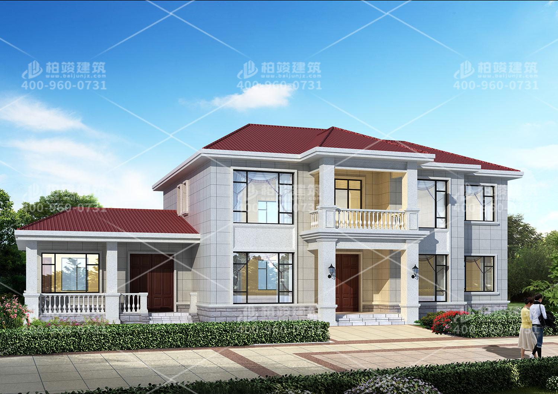 欧式风格自建房设计,农村建房也是一种浪漫。