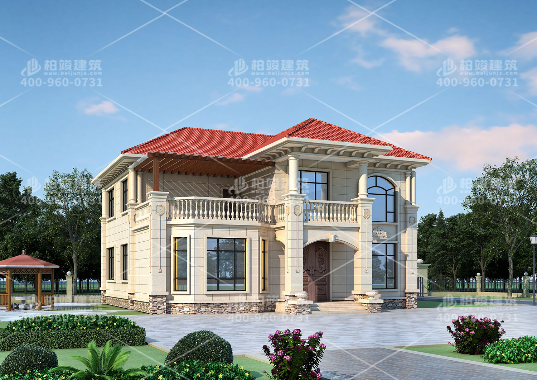 自建小别墅设计,恬静悠闲的生活居所。
