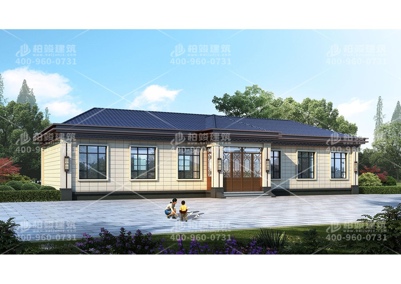 农村自建四合院设计,大气经典全村都想建一套。