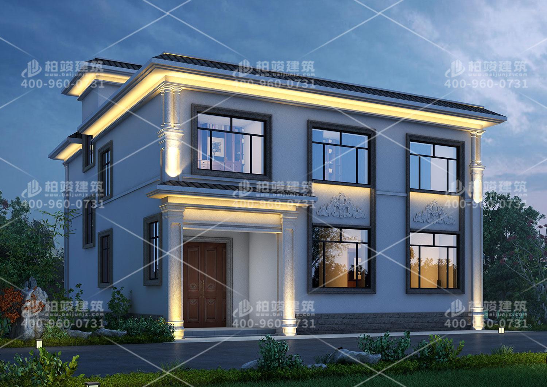二层现代风格别墅,仿石瓷砖外观美观值得拥有。