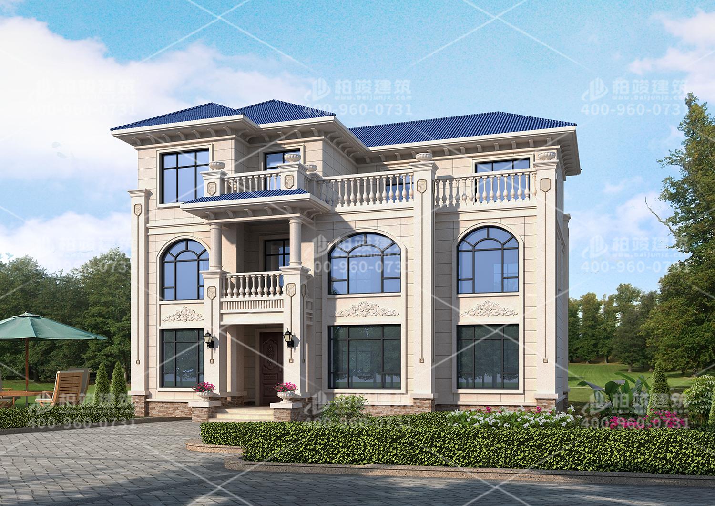三层欧式风格设计图,多卧室布局每一个空间都实用。