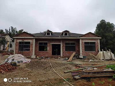 一层房屋施工案例 图纸109编号