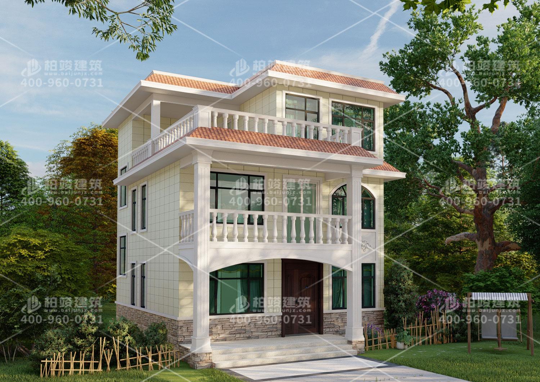 广东欧总定制欧式三层别墅设计图及效果图。