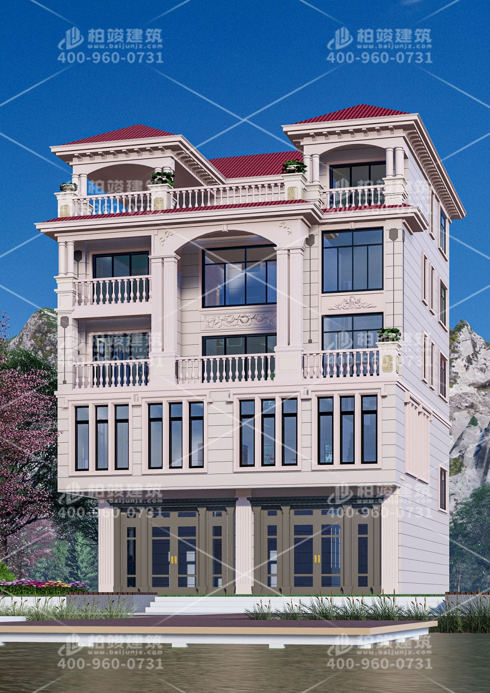 贵州龙总定制中式四层自建房设计图