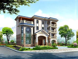 豪华欧式四层大型别墅设计图纸,高端大气上档次!