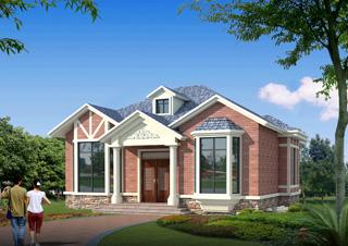 2019年最新乡村别墅设计图 造价15万