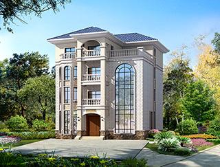 豪华大型四层欧式别墅设计图纸,高端大气