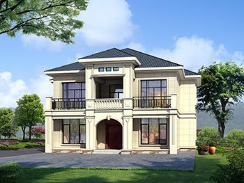 二层欧式小别墅设计方案,全套建筑设计图纸