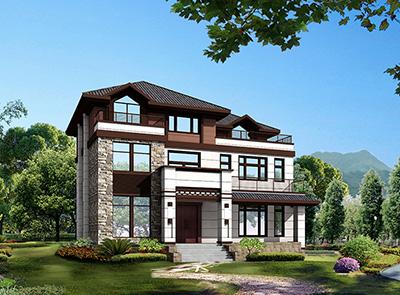 新中式二层别墅设计图纸,最美的新中式别墅