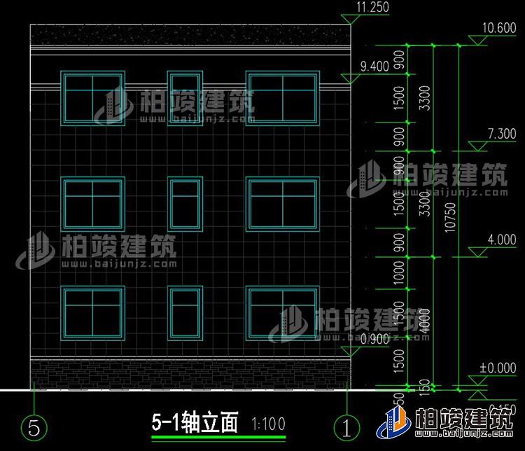 180平米房屋设计图_农村三层120平米房屋设计图及效果图,造价20万BZ3515|新中式风格 ...