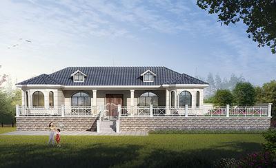一层别墅设计图纸及效果图大全 造价20万