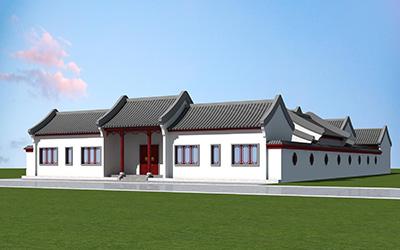 四合院设计找柏竣建筑中式设计 占地600