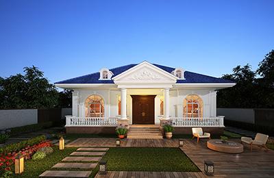漂亮的一层房屋设计图片大全