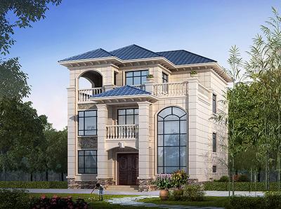 三层自建房别墅设计图纸 造价35万
