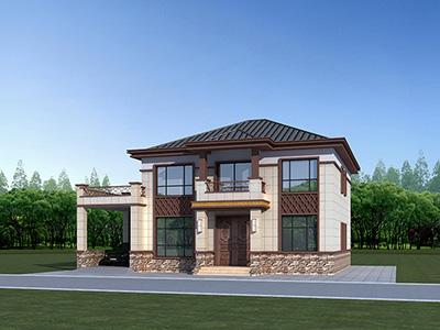 农村中式别墅设计图纸及效果图大全 造价30万