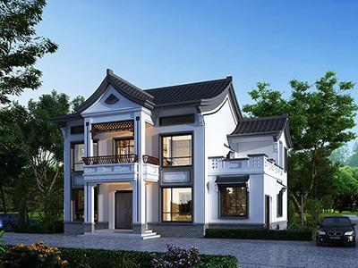 中式古典别墅设计图 造价30万
