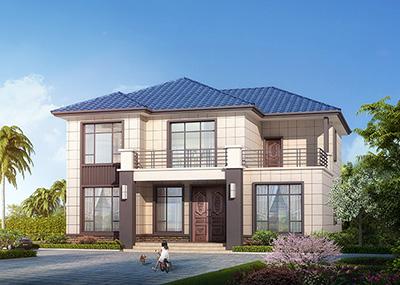 农村二层小别墅设计图纸及效果图 造价30万