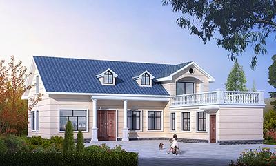 农村一层小别墅设计图带阁楼和效果图