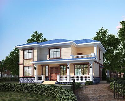 二层复式小别墅设计图纸楼中楼结