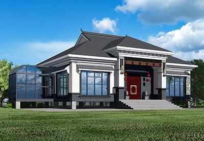 一层房屋设计图 农村 别墅