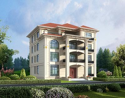 四层楼房设计图农村 全套施工图
