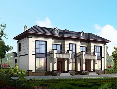二层中式别墅图纸设计图全套图纸BZ2574-新中式风格