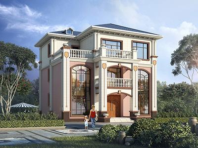 农村三层自建房设计图大全 造价40万
