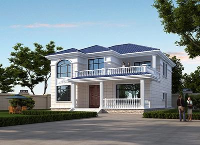 二层欧式别墅设计图片大全 盖房子设计图
