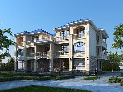 三层房屋建筑设计图纸 漂亮的农村自建房