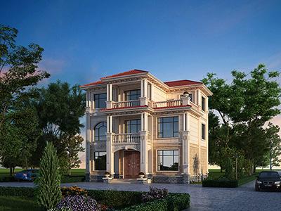 农村三层楼房设计图纸 造价35万
