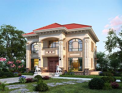 农村二层住宅设计图大全 造价30万