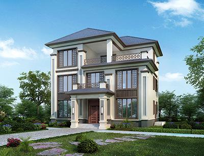农村建房设计图纸及效果图大全 三层