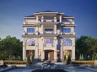 乡村四层楼设计图纸 豪华别墅设计图