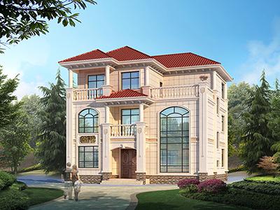 农村自建房设计平面图 三层