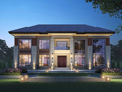 农村住宅设计图纸及效果图 造价35万