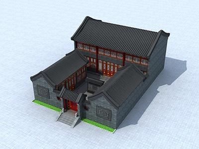 新农村四合院设计图纸 房屋设计