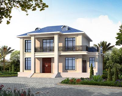 农村小别墅设计图 二层