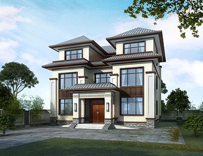 三层欧式房屋设计图大全