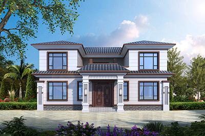 二层新中式农村自建房设计图