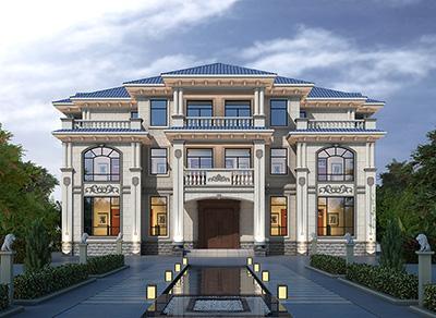 三层双拼农村房屋设计图大全 带电梯