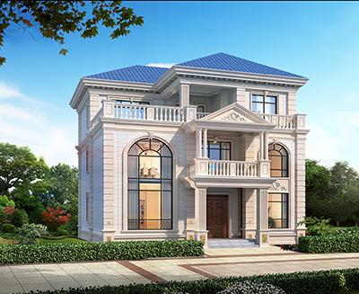 三层豪华大气欧式别墅设计图